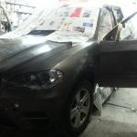 bmw x3 bmw x5 bmw x7 car spray paint change color sin heng long motor work car workshop alpine white 300