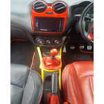 alfa romeo mito customized trim interior spray paint ferrari Rosso Scuderia red