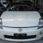 nissan fairlady nissan gtr car spray paint change color sin heng long motor work car workshop