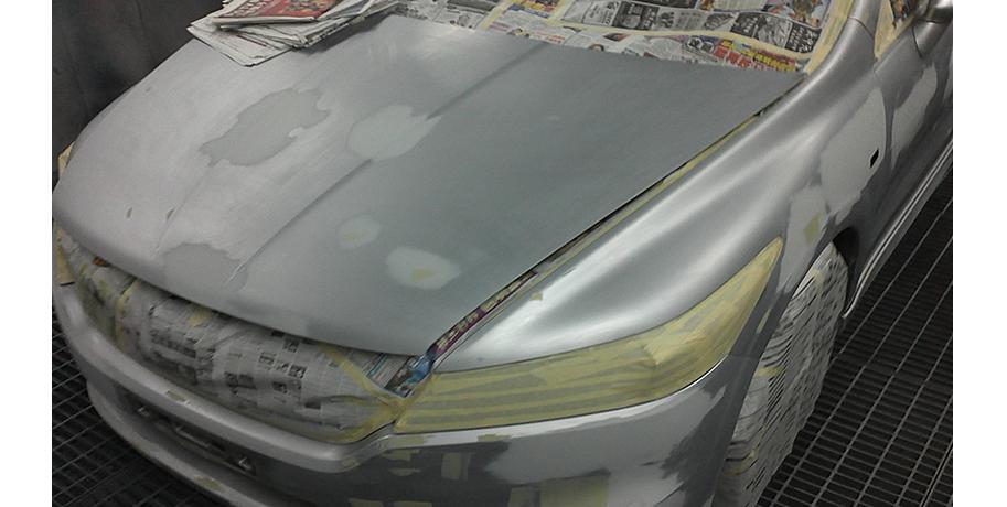 Honda Stream Whole Car Respray