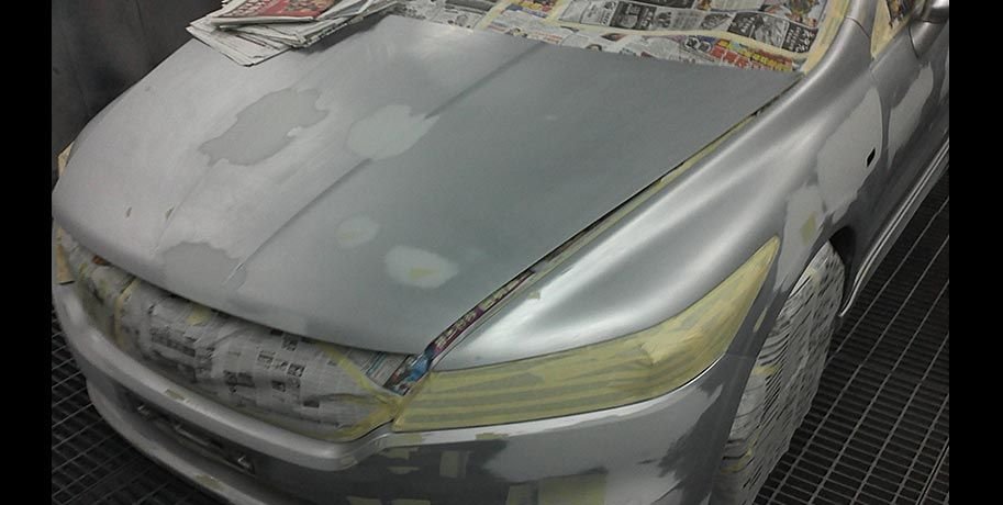 Honda Stream Whole Car Respray