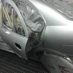 nissan sunny silver toyota altis car spray paint change color sin heng long motor work car workshop
