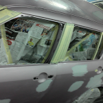 Suzuki Swift Customization car spray paint suzuki swift