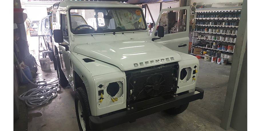 Customized Land Rover 2