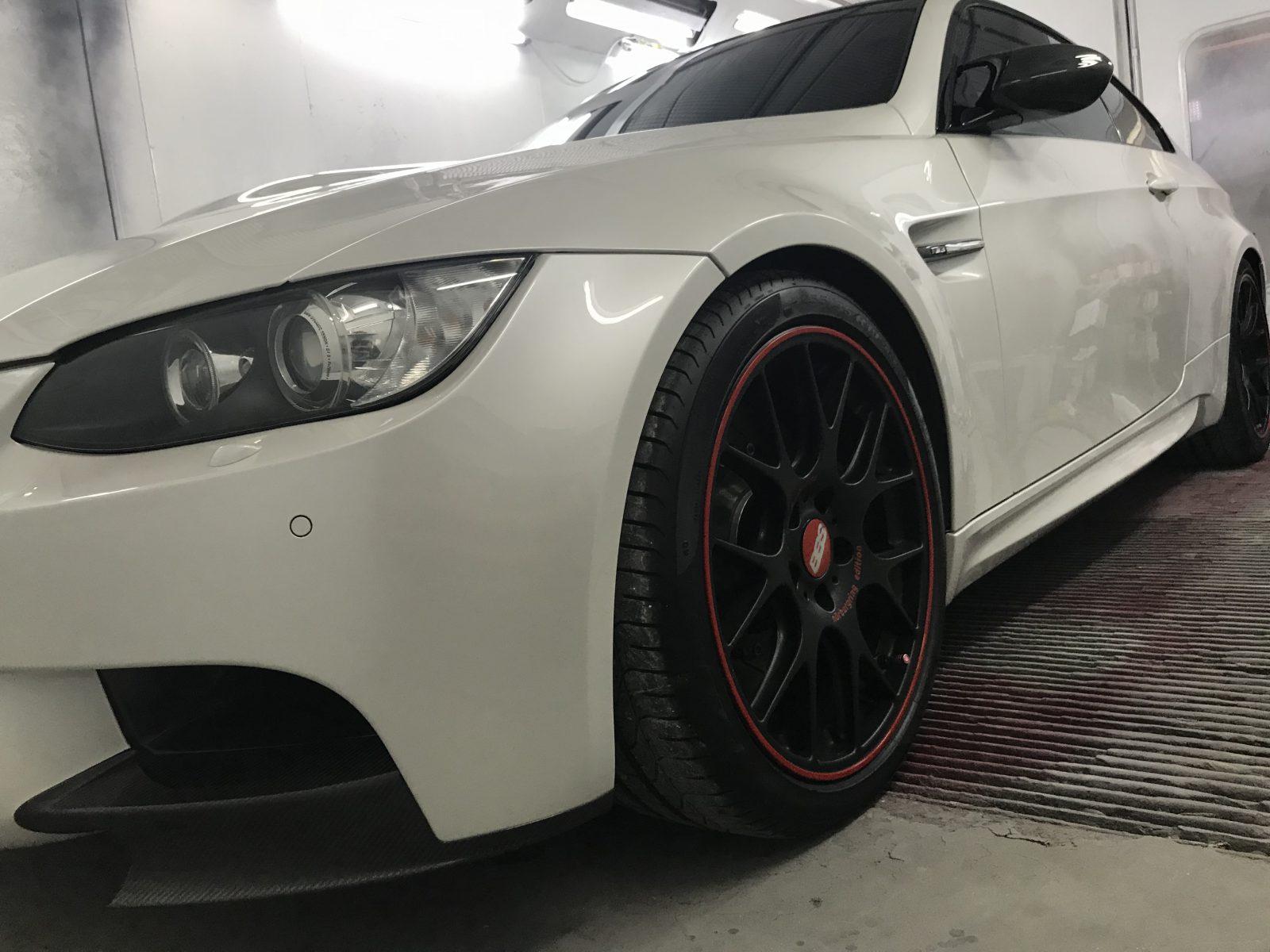 BMW M3 Spray Paint Whole Car