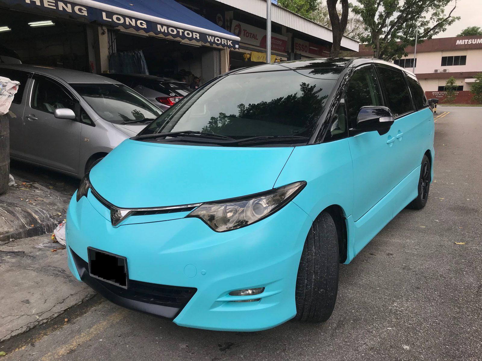 Toyota Estima Customized Spray Painting